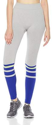 7Goals Women's Seamless Soccer Stripe Legging