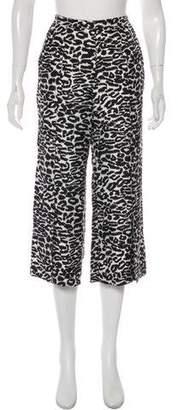 Piamita Silk Animal Print Pants w/ Tags