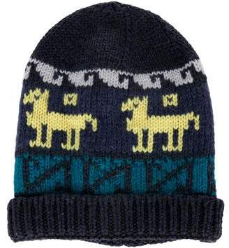 Etro Multicolor Knit Beanie w/ Tags