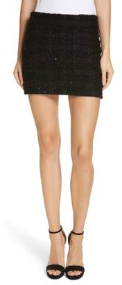 Alice + Olivia Elana Sequin Miniskirt