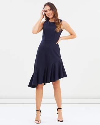 Sleeveless Frill Hem Dress