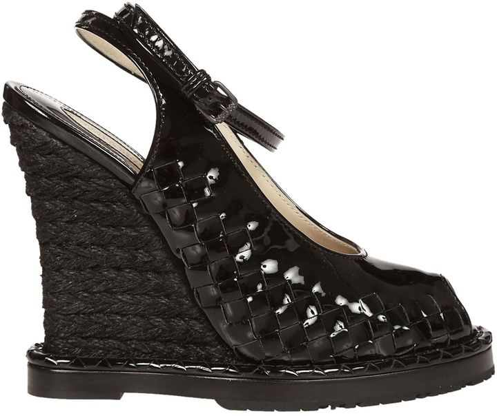 Bottega Veneta Bottega Veneta Intrecciato Wedge Sandals