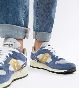 Saucony Shadow 5000 vintage sneaker in blue