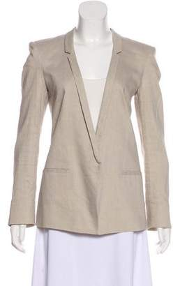 Helmut Lang Structured Long Sleeve Blazer