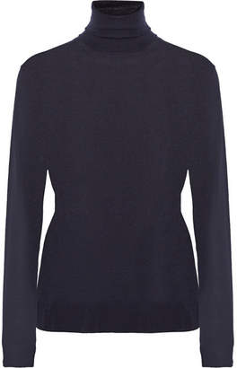 Stella McCartney Wool Turtleneck Sweater - Navy