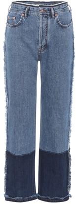 Acne Studios Myrja high-rise straight jeans