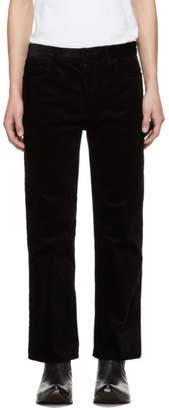Haider Ackermann Black Conducer Trousers