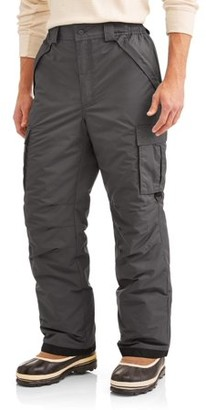 Iceberg Men's Insulated Cargo Snowboard Pant, up to size 3XL
