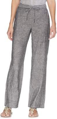 Vince Camuto Cross Dye Wide Leg Linen Pants