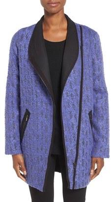 Women's Nic+Zoe Tapestry Asymmetrical Zip Coat $278 thestylecure.com