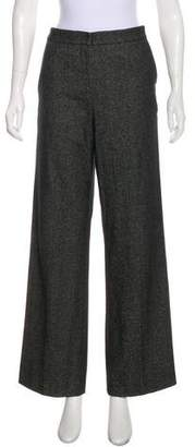 Narciso Rodriguez Wool-Blend High-Rise Pants