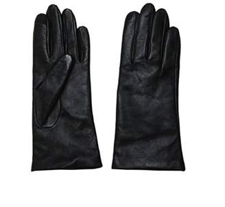 Fownes Brothers TOUCHPOINT Womens Fleece/Faux Fur Lined 100% Leather Smart Gloves