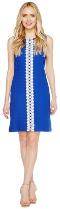 Christin Michaels - Vera Sleeveless Shift Dress Women's Dress $69 thestylecure.com