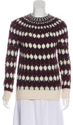 Gucci Embellished Long Sleeve Sweater