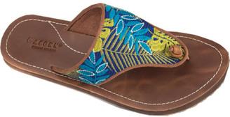 Women's Acorn Artwalk Leather Flip Sandal $54.95 thestylecure.com