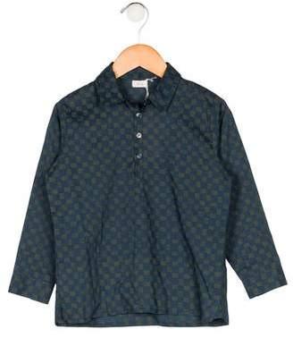 Ketiketa Boys' Printed Long Sleeve Shirt w/ Tags