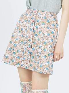 merry jenny (メリー ジェニー) - 花柄ミニスカート