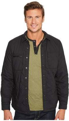 Jeremiah Sage Quilt Shirt Jacket Men's Clothing