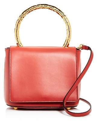 Marni Pannier Flap Small Leather Should Bag