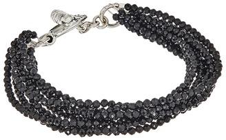 King Baby Studio - 8 Strand Spinel Bracelet w/ Mini Toggle Clasp Bracelet $325 thestylecure.com