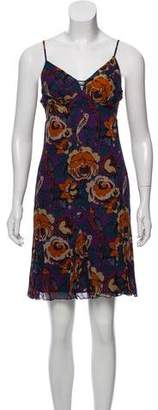 Anna Sui Sleeveless Printed Dress w/ Tags