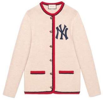 Gucci Women's cardigan with NY YankeesTM patch
