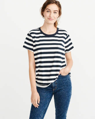Abercrombie & Fitch Patterned Boyfriend Tee