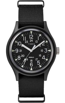 Timex R MK1 Nylon Strap Watch, 40mm