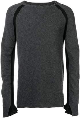 Andrea Ya'aqov fine knit fitted sweater