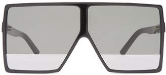 Saint Laurent Betty flat-top acetate sunglasses
