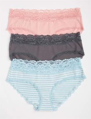 Jessica Simpson Motherhood Maternity Maternity Hipster Panties (3 Pack)