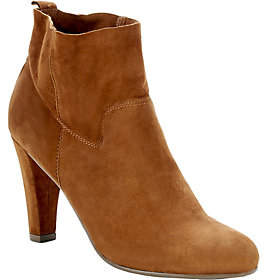 Sole Society Unlined Suede Ankle Booties - Laur