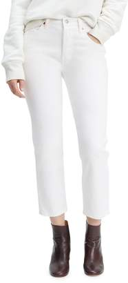 Levi's 501 Crop In The Clouds Jeans