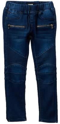 Hudson Moto FT Skinny Jeans (Toddler & Little Girls)