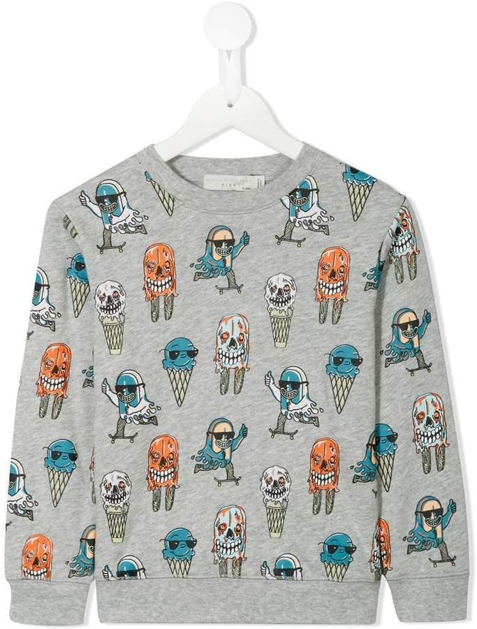 Arrow Skate print sweatshirt