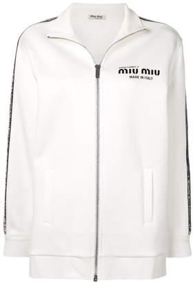 Miu Miu full-zipped jacket
