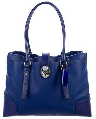 Tumi Leather-Trimmed Tote