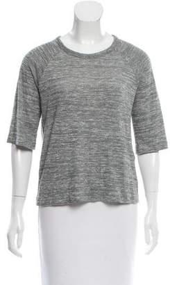 Rag & Bone Three-Quarter Sleeve Knit Top