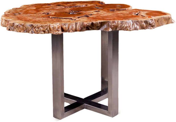 Origins Collection Table with Cross Leg