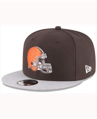 New Era Cleveland Browns Heather Vize Mb 9FIFTY Cap