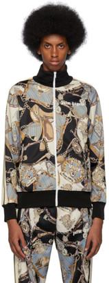 Palm Angels Black Bridle Track Jacket