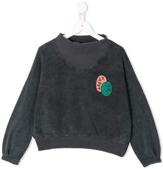 Bobo Choses ribbed neck sweatshirt