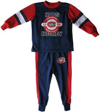 Mighty-Mac Mighty Mac Montreal Canadiens Toddler Glow In The Dark Pyjamas