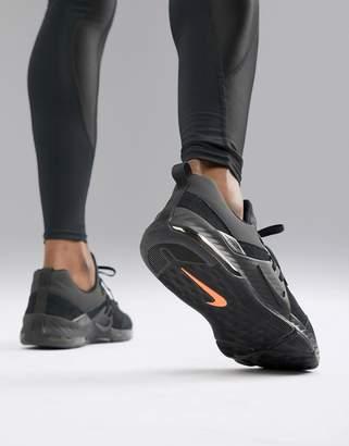 Nike Training Zoom command sneakers in triple black aa3984-006