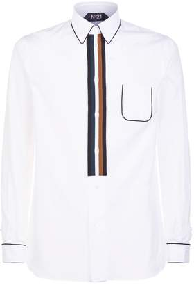 N°21 N 21 Stripe Placket Shirt