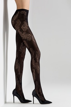 Natori Feathers Net Tights