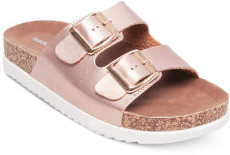 Madden-Girl Goldie Footbed Sandals