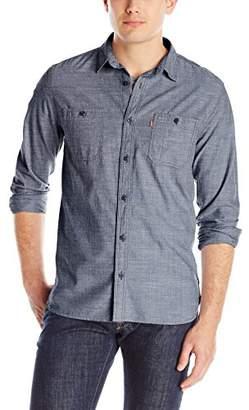 Levi's Men's Marty Chambray Long Sleeve Shirt