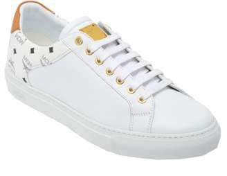 385455cf2edc MCM Men s Low Top Classic Sneakers In Leather
