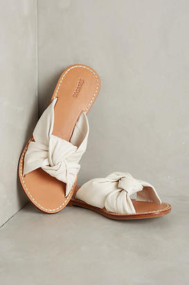Soludos Knotted Slide Sandals $98 thestylecure.com